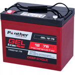 Panther tracline 12V 75Ah GEL Deep Cycle Traction
