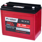 Panther tracline 12V 135Ah GEL Deep Cycle Traction